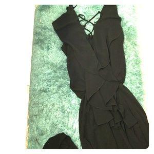 Pants - Elegant Black Pants Suit *Mode Plus